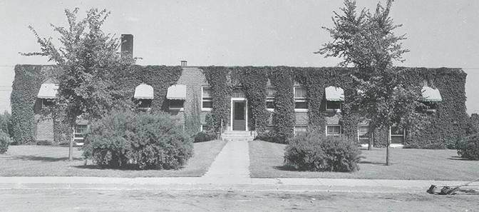 Hospital historical photo