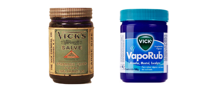 Vicks VapoRub - Then and Now