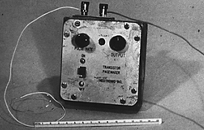The first pacemaker