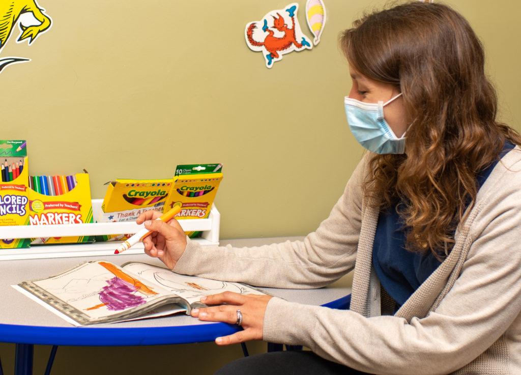 Pediatric therapist