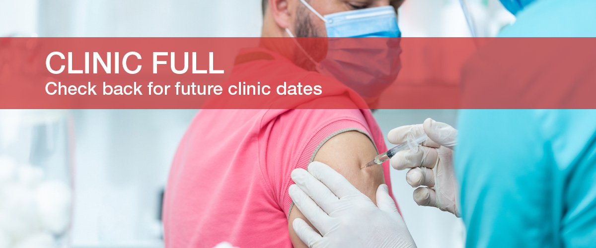 Clinic Full: Please check back for future clinic dates