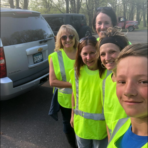 """Welia Health supporting """"Adopt-a-Highway"""""""