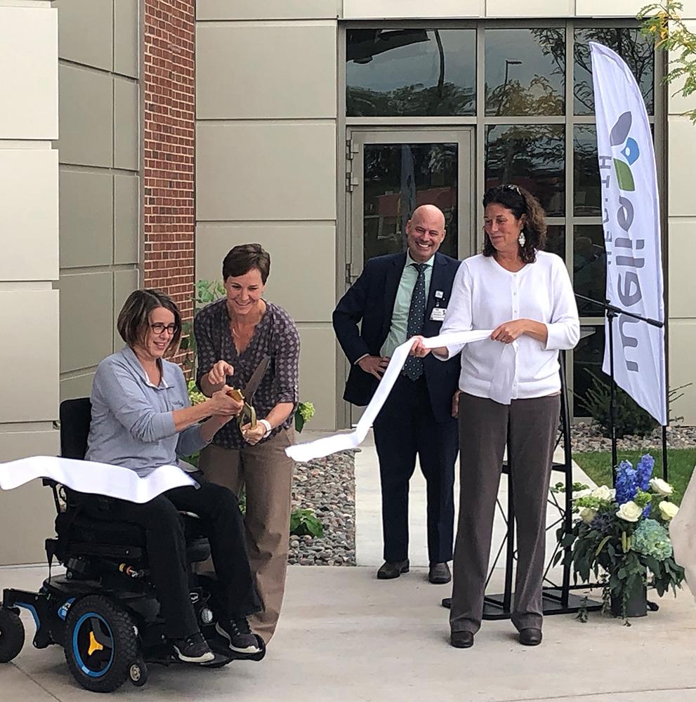 Welia Health Grand Opening ribbon cutting