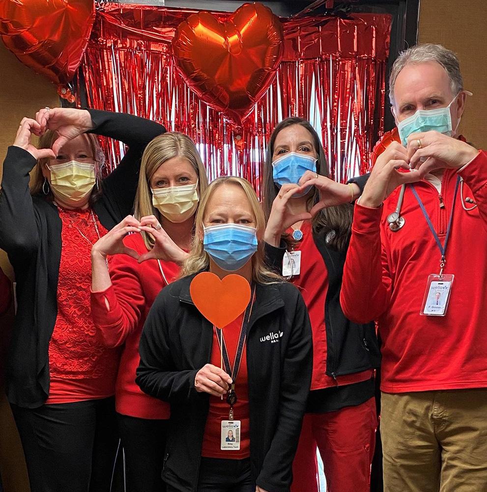 Welia Health Hinckley Clinic staff
